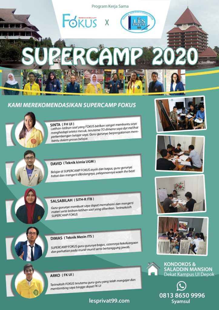 Bimbel Supercamp SBMPTN